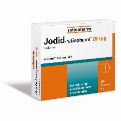 JODID-ratiopharm 200 myg Tabletten