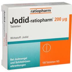 JODID-ratiopharm 200 myg Tabletten