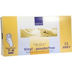 VINYL Handschuhe puderfrei medium blau