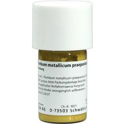 PLUMBUM METALLICUM praep. D 20 Trituration
