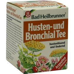 BAD HEILBRUNNER Husten- und Bronchial Tee N Fbtl.