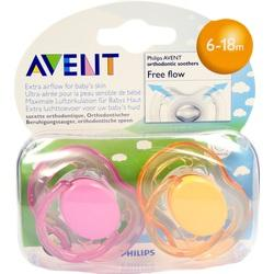 AVENT Schnuller Freeflow 6-18 Mon.BPA-frei