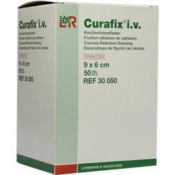 CURAFIX i.v. steril Pflaster 6x9 cm