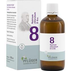 BIOCHEMIE Pflüger 8 Natrium chloratum D 6 Tropfen