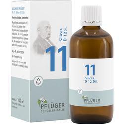 BIOCHEMIE Pfl\u25ger 11 Silicea D 12 Tropfen