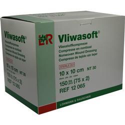 VLIWASOFT Vlieskompressen 10x10 cm steril 4l.