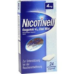NICOTINELL Kaugummi Cool Mint 4 mg