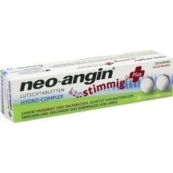 NEO-ANGIN stimmig Plus Kirsche Lutschtabletten
