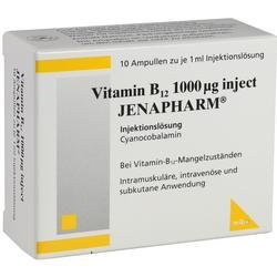 VITAMIN B12 1.000 myg Inject Jenapharm Ampullen