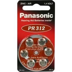 BATTERIEN f.Hörgeräte Panasonic PR312