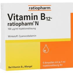 VITAMIN B12-RATIOPHARM N Ampullen