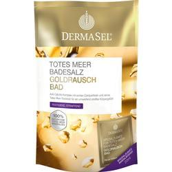 DERMASEL Totes Meer Badesalz+Gold EXKLUSIV