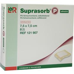 SUPRASORB P PU-Schaumv.selbstklebend 7,5x7,5 cm