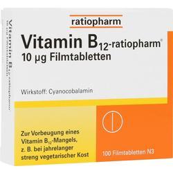 VITAMIN B12-RATIOPHARM 10 myg Filmtabletten