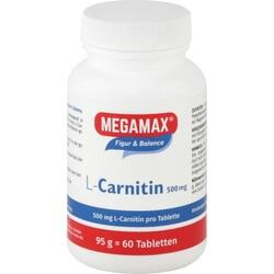 MEGAMAX L-Carnitin 500 mg Tabletten