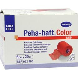 PEHA-HAFT Color Fixierb.latexfrei 6 cmx20 m rot