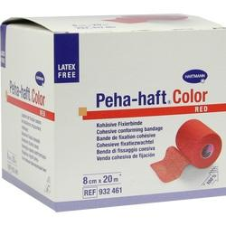 PEHA-HAFT Color Fixierb.latexfrei 8 cmx20 m rot