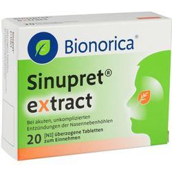 SINUPRET extract \u25berzogene Tabletten