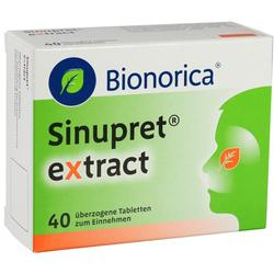 SINUPRET extract \u25berzogene Tabletten