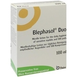BLEPHASOL Duo 100 ml Lotion+100 Reinigungspads