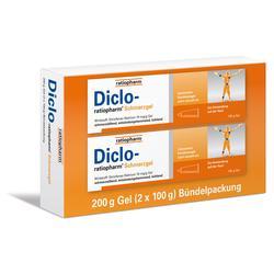 DICLO-RATIOPHARM Schmerzgel Bündelpackung