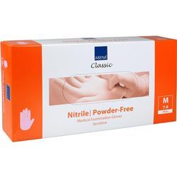 NITRIL U.Hands.sensitive unster.pf M pink