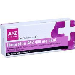 IBUPROFEN AbZ 400 mg akut Filmtabletten