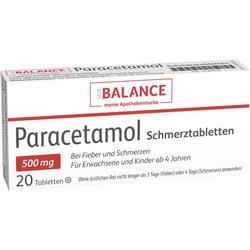 PARACETAMOL Schmerztabletten Balance