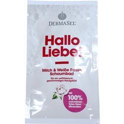 DERMASEL Totes Meer Schaumbad Hallo Liebe