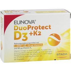 EUNOVA DuoProtect D3+K2 1000 I.E./80 myg Kapseln