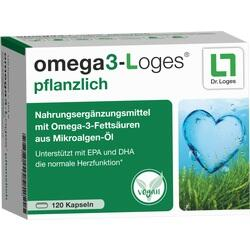 OMEGA3-Loges pflanzlich Kapseln