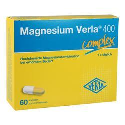 MAGNESIUM VERLA 400 Kapseln