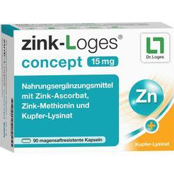 ZINK-LOGES concept 15 mg magensaftres.Kapseln