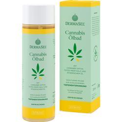 DERMASEL Cannabis Ölbad Limited Edition Zitrone