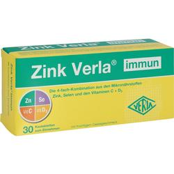 ZINK VERLA immun Kautabletten