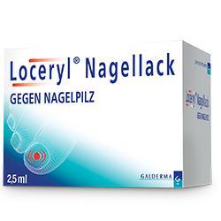 Loceryl - antimykotischer Nagellack