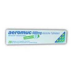 Aeromuc Brausetabletten 600mg-20 Stück