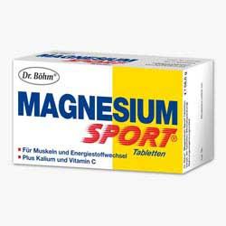 Dr.  Böhm Magnesium Sport Tabletten 60 Stk