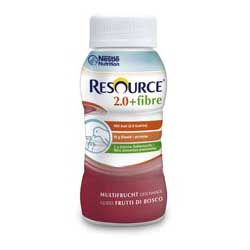 RESOURCE                      2.0 FIBRE 200ML             VANILLE                                         1X4