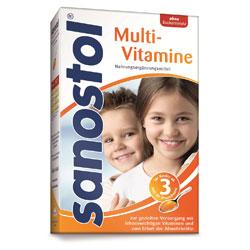 Sanostol Multi-Vitamine o. Z.  460ml