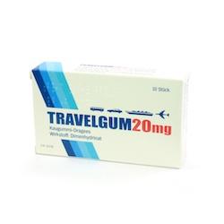 Travelgum  20 mg - Kaugummi-Dragees