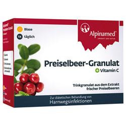 Alpinamed Preiselbeer Granulat 20 Beutel