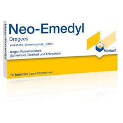 Neo-Emedyl Dragees-12 Stück