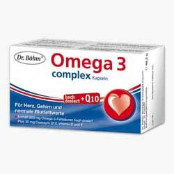 OMEGA                         -3 DR.BOEHM                    KAPSELN COMPLEX