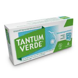 TANTUM                        -VERDE                      PASTILLEN                 M.EUKALYPTUSGESCHM.3MG