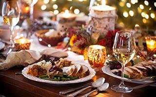 Das Essen an den Feiertagen: Viel zu gut und viel zu viel