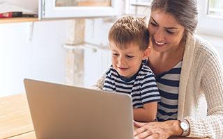 Gesunde Mediennutzung bei Kindern –Fernseher, Internet und Co.